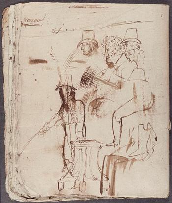 Cahier de thèmes et de versions latines, s. d., Paris, Musée national Eugène Delacroix