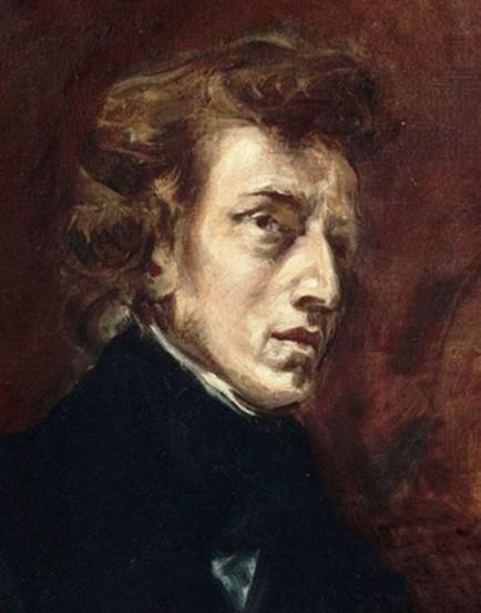 Eugène Delacroix, Portrait de Frédéric Chopin, 1838, Paris, musée du Louvre