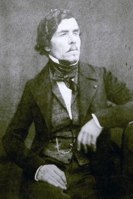 Félix Nadar, Photographie d'Eugène Delacroix, s. d., Paris, Bnf