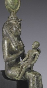 Isis allaitant Horus, vers 680 av. J.-C., Baltimore, Walters Art Museum