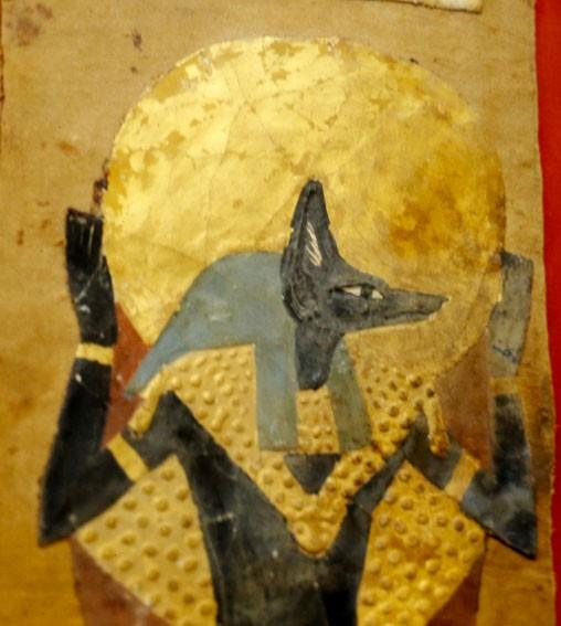 Anubis, musée national du Caire, photo : Gérard Grégor, pour Herodote.net