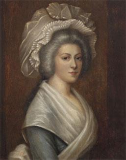 Madame Élisabeth à la prison du Temple, 1793, d'Aleksander Kucharski, collection particulière, DR