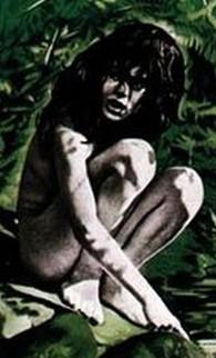 Affiche du film « L'enfant sauvage » réalisé par François Truffaut en 1969.
