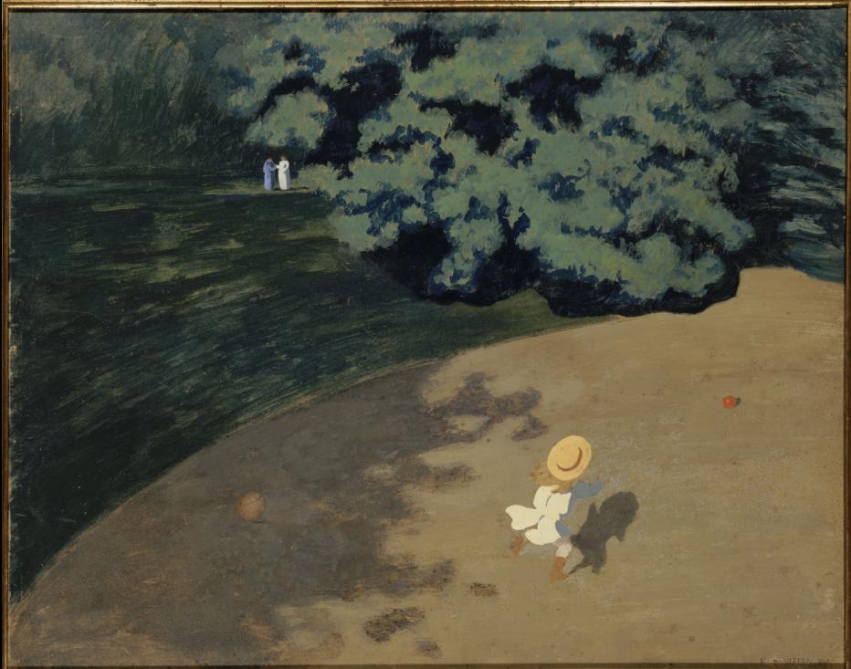 Le ballon, Felix Valloton, 1899, musée d'Orsay, Paris.