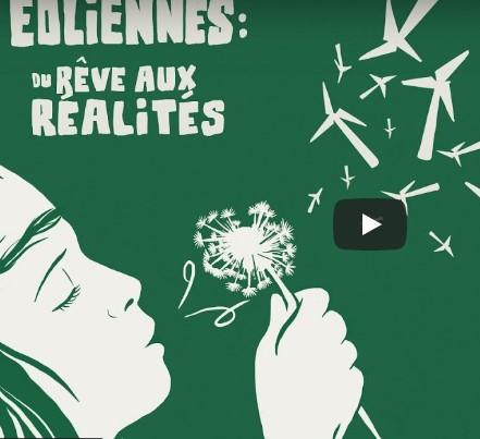 08 juin 2021 : Éoliennes : du rêve aux réalités