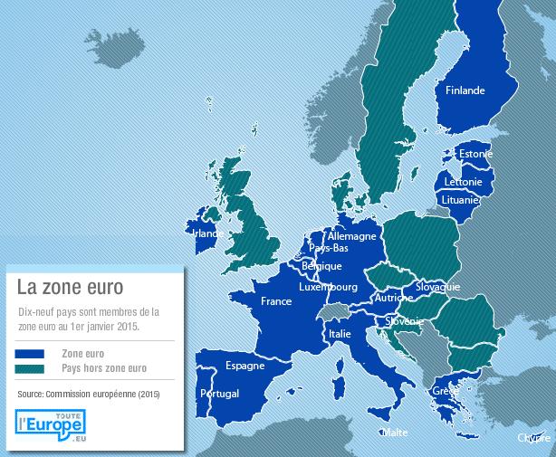 La zone euro en 2015