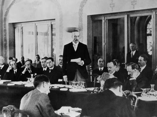 La conférence d'Évian (juillet 1938)