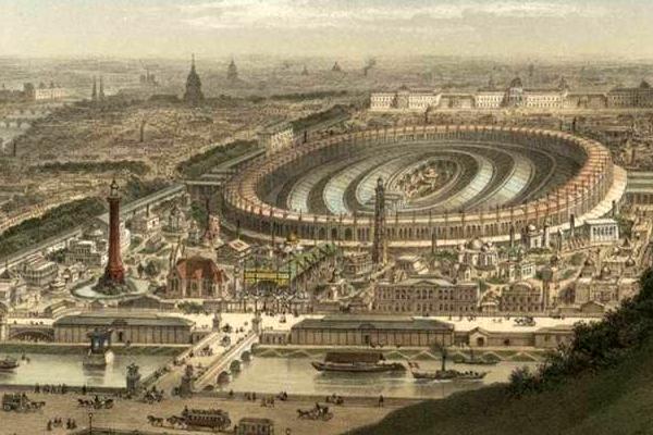 Les Chroniques du Jour : ça s'est passé un.....1er Avril Exposition-1867
