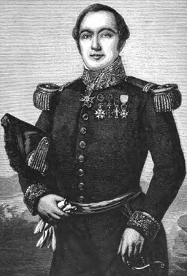 Auguste Febvrier-Despointes (Vauclin, Martinique, 1796 - large du Pérou,  5 mars 1855)