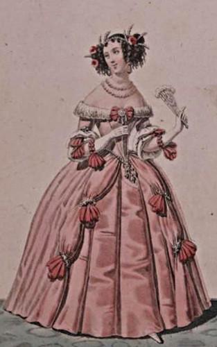 Mademoiselle Mars dans le rôle de Célimène, Le Misanthrope, Molière, 1812, BnF, Paris.