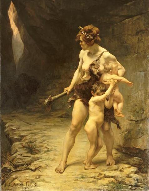 « Deux Mères », Maxime Faivre, 1888, musée d'Orsay, Paris.