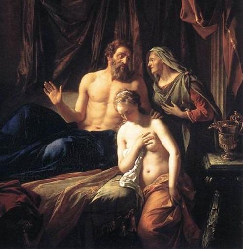« Sarah présentant Hagar à Abraham », Adriaen van der Werff, 1699, Staatsgalerie im Neuen Schloss, Schleißheim, Munich.
