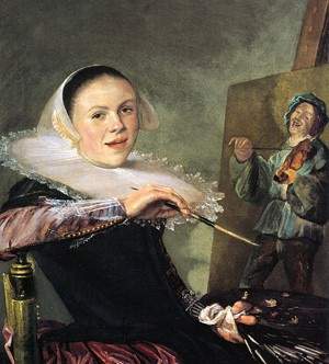 Judith Leyster, Autoportrait, vers 1630, Washington, National Gallery of Art