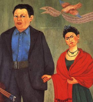 Frida Khalo, Frida et Diego Rivera, 1931, San Francisco Museum of Modern Art