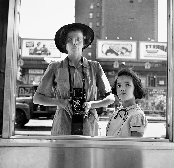 Vivian Maier, Autoportrait, 1953, Maloof Collection