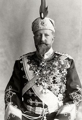 Ferdinand 1er de Bulgarie, prince de Saxe-Cobourg-Gotha ( 26 février 1861, Vienne - 14 août 1948, Cobourg)