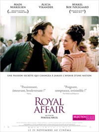 Royal affair, film danois (2012)