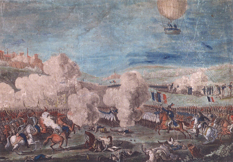 La charlière L'Entreprenant à la bataille de Fleurus (26 juin 1794)