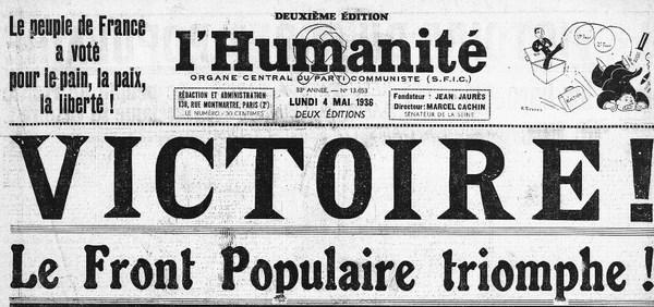 3 mai 1936 - Un Front populaire en France - Herodote.net