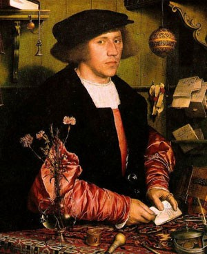 Georg Giese de Danzig, marchand de la Hanse à Londres (Hans Holbein le Jeune, Berlin)
