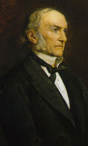 William Gladstone à 70 ans (John Millais, 1879, National Portrait Gallery, Londres)