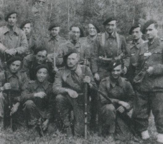 Maquisards du plateau des Glières (Haute-Savoie, hiver 1943-1944)