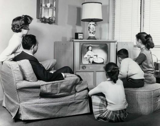 Une famille française dans les années 1950 (DR)