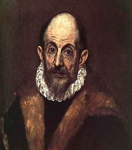 Autoportrait (El Greco, Metropolitan Museum of Art, Washington)