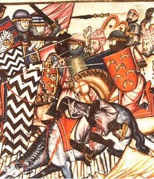 Les musulmans envahissent l'Espagne (711, bataille de Guadalete)