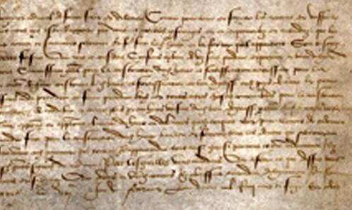 Commission délivrée le 7 février 1517 par François Ier à l'amiral de Bonnivet pour construire le port du Havre, archives municipales du Havre.