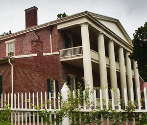 L'Hermitage Mansion (Nashville, Tennessee), résidence d'Andrew Jackson