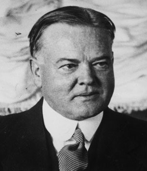 Herbert Clark Hoover (10 août 1874, West Branch, Iowa ; 20 octobre 1964, New York)