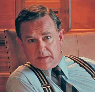 Hugh Bonneville dans le rôle de Mountbatten (Le dernier vice-roi des Indes, 2017)
