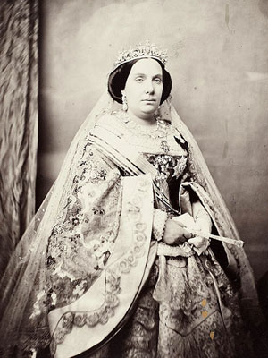 Isabelle II (10 octobre 1830, Madrid - 10 avril 1904, Paris)