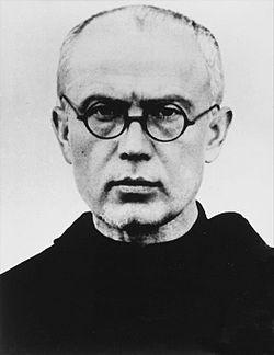 Maximilien Kolbe (7 janvier 1894, Zduńska Wola, Pologne ; Auschwitz, 14 août 1941)