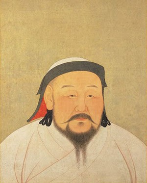 Le grand khan Koubilai Khan (23 septembre 1215 -18 février 1294)
