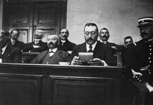 Le jury au procès Landru en 1921 (source : Gallica)