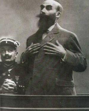 Landru à son procès en 1921