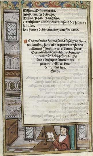 Germain Hardouin (?), Livre d'heures, XVIe s., Paris, musée du Louvre