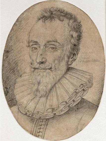 Lucas Emil Vorsterman, Portrait de François de Malherbe, XVIIe s., Chantilly, musée Condé