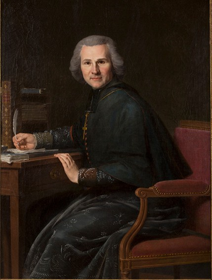 Pierre-Joseph-Célestin François, Portrait de l'Abbé Grégoire, 1800, Nancy, Palais des ducs de Lorraine