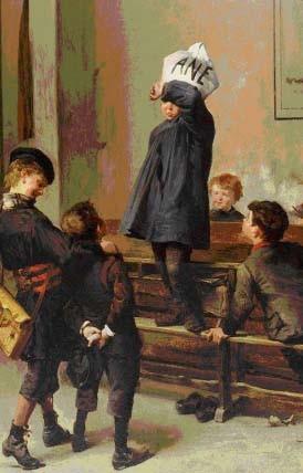 Henri Jules Jean Gooffroy, Un Futur savant, 1880, Rouen, musée national de l'Éducation