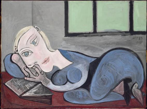 Pablo Picasso, Femme couchée lisant, 1939, Paris, musée Picasso