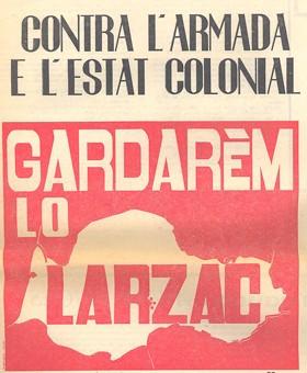 affiche  Larzac