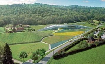 Centre International d'Art pariétal de Montignac-Lascaux (Lascaux IV, ouverture : été 2016)