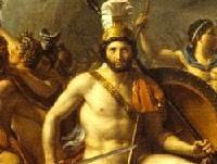 Léonidas aux Thermopyles (1814, Louis David, musée du Louvre)