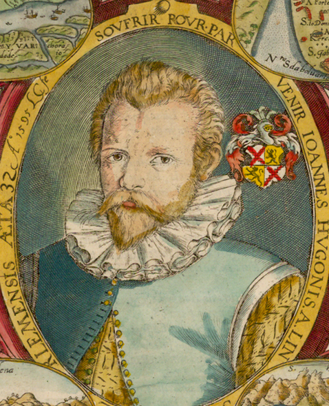 Huygen van Linschotten  (1563, Haarlem ; 8 février 1611, Enkhuizen)