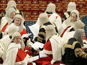 Membres de la chambre des Lords (DR)
