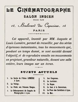 28 d cembre 1895 premi re s ance publique du 7e art - Est ce que la caf peut se porter garant ...
