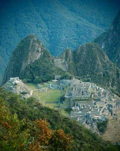 La cité de Machu Picchu (photo : Caroline et Hubert Rameye, 2015)